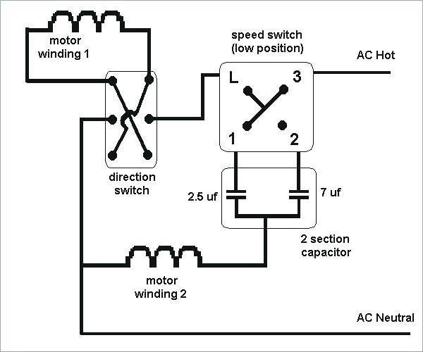 Ceiling Fan Reverse Switch Wiring Diagram
