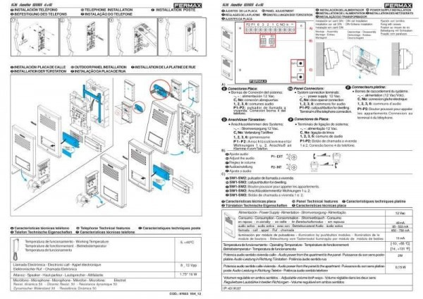 Fermax Intercom Wiring Diagram
