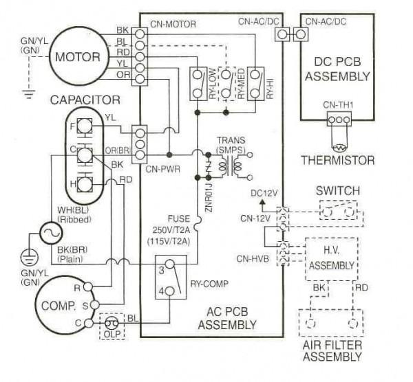 Rheem Thermostat Wiring Diagram