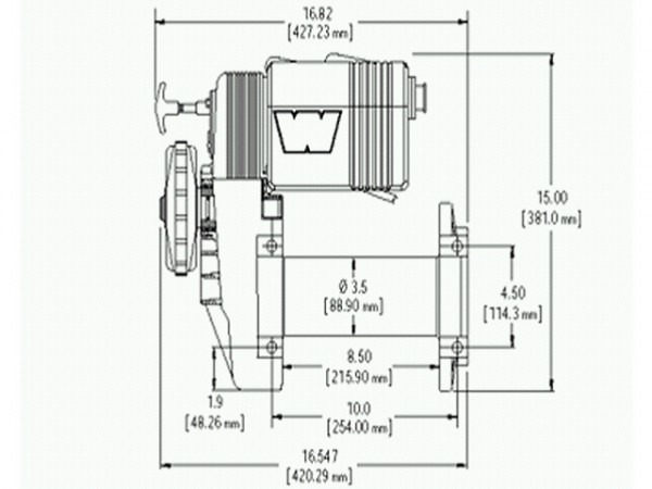 Warn High Mount Winch Wiring Diagram