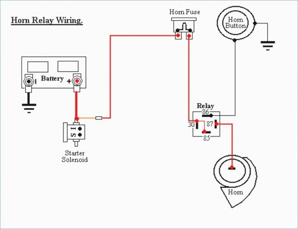 Horn Button Wiring Diagram