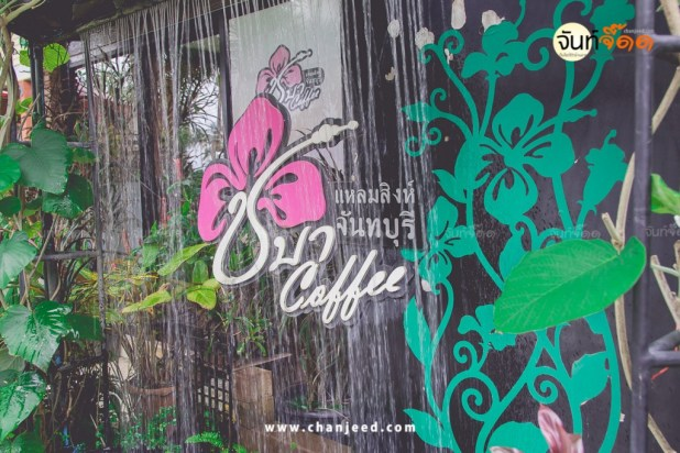 ชบา Coffee ชายหาดแหลมสิงห์
