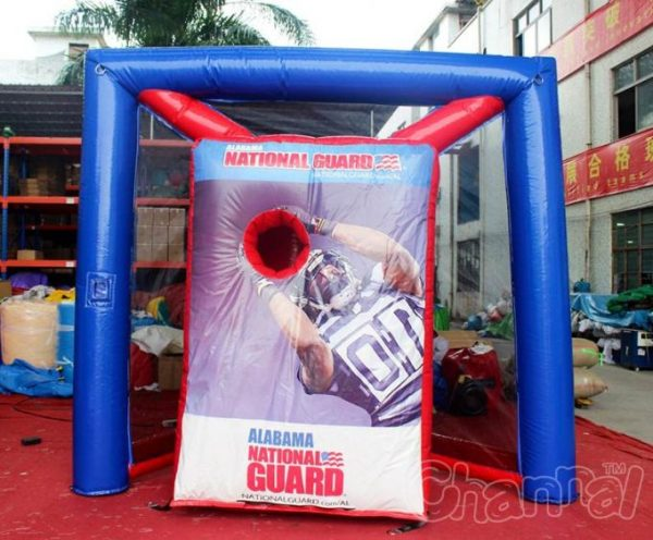 Inflatable Football Toss Game For Sale Channal Inflatables
