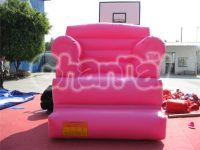 Pink Inflatable Sofa - Channal Inflatables