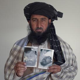 Pakistani journalist Kareem Khan. (Reuters)