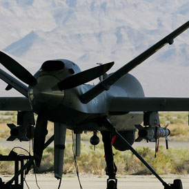 Pakistan drone war: legal challenge against CIA. (Getty)