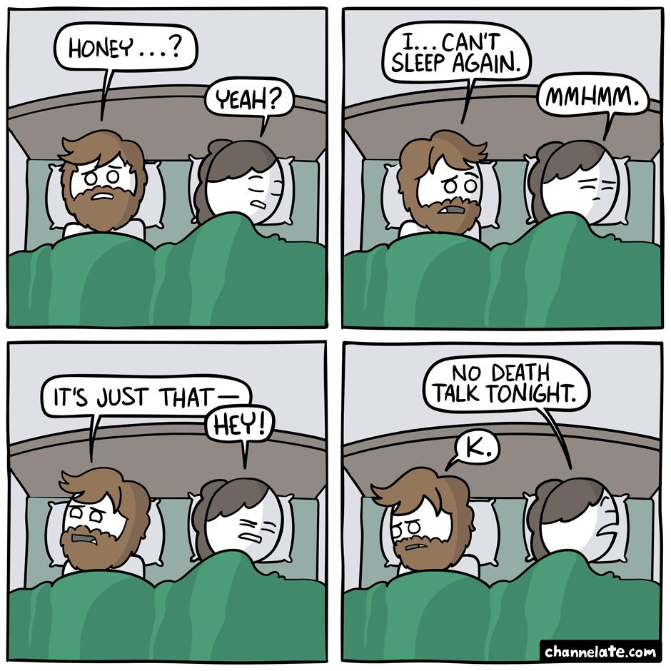 Can't sleep. – Channelate