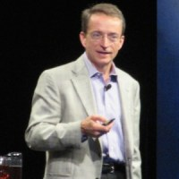 VMware CEO Pat Gelsinger at VMworld 2014.