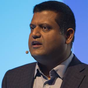 Sachin Gupta, senior vice president of product management for enterprise networking at Cisco