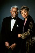 Ruby Dee and her husband Ossie Davis