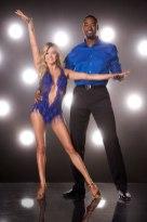 Calvin Johnson Jr & Lindsay Arnold