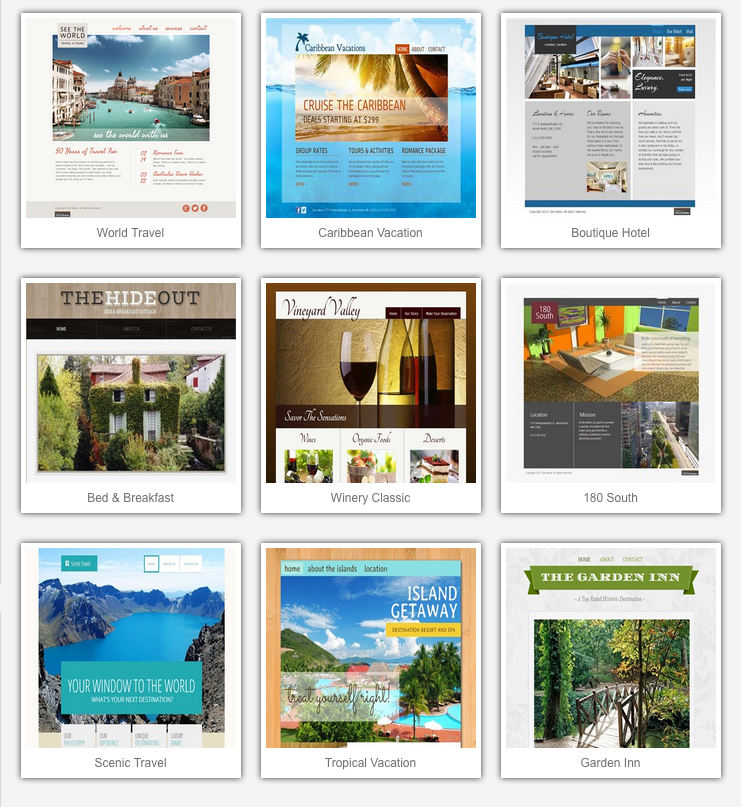 Image: Travel Templates