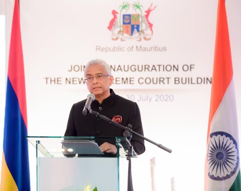 (VIDÉO) Pravind Jugnauth : « La nouvelle cour suprême représente l'intention du gouvernement d'établir la justice dans le pays » - ChannelNews