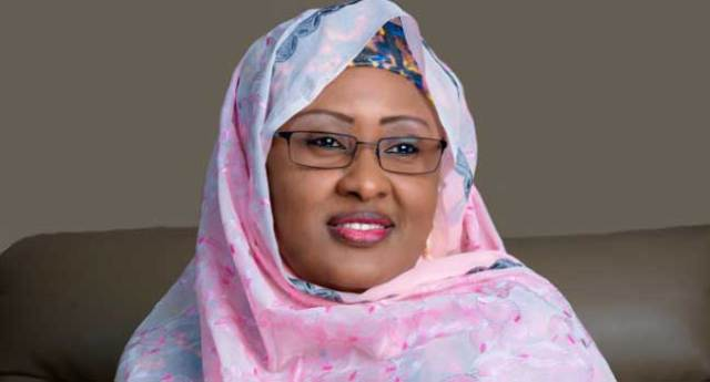 Aisha Buhari Thanks Nigerians for Supporting Husband's Administration