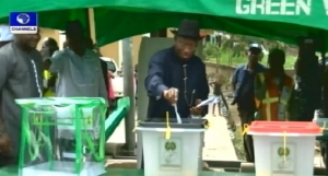 Goodluck Jonathan Votes