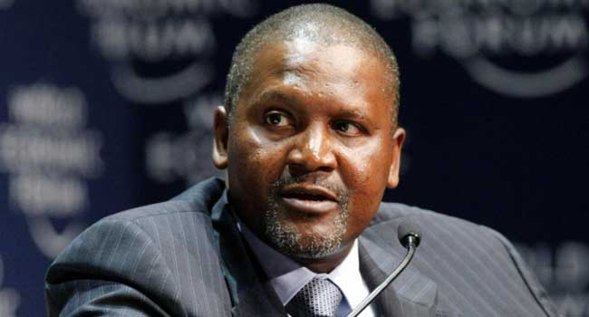 Dangote's Worth Drops By 32%