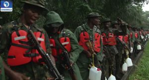 soldiers die in boat mishap in Bayelsa State