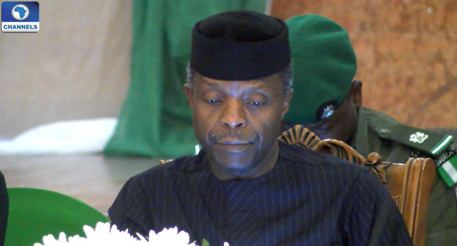 Osinbajo Signs Executive Order On Taxes, Assets Declaration