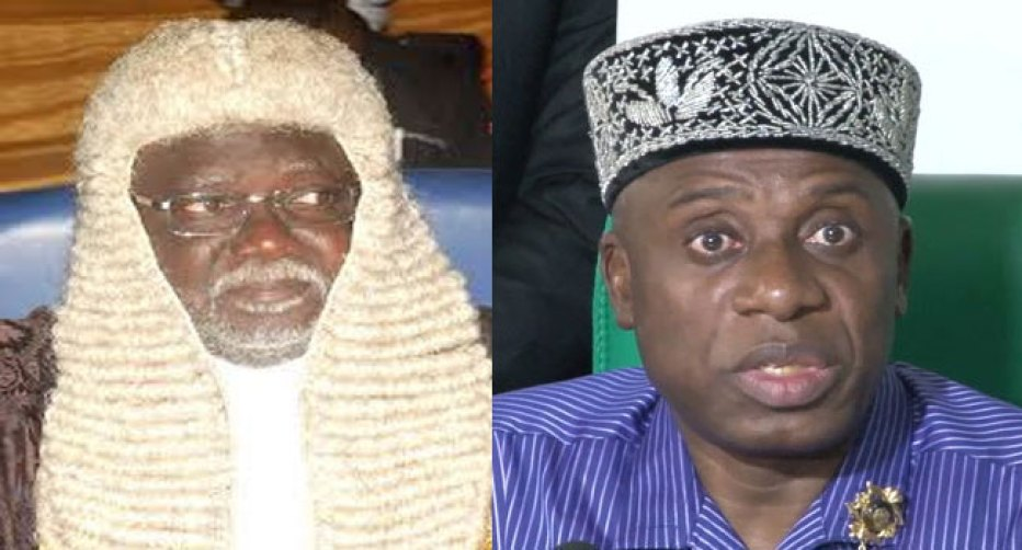APC THREATENS JUSTICE OKORO – YOU HAVE ON WEEK TO WITHDRAW BRIBERY ALLEGATION AGAINST AMAECHI OR GO TO JAIL