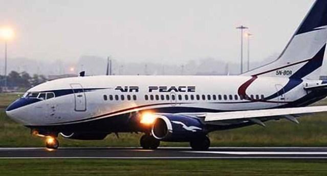 Air Peace Aircraft Collide At Lagos Airport