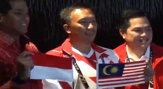 Khairy Regrets Mistake Over Indonesian Flag