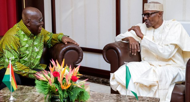 Ghana's Akufo-Addo 'Very Delighted' Buhari Is Back