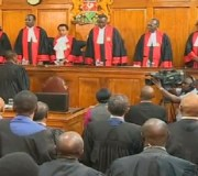 Kenya Court Blames Election Commission For Annulled Vote