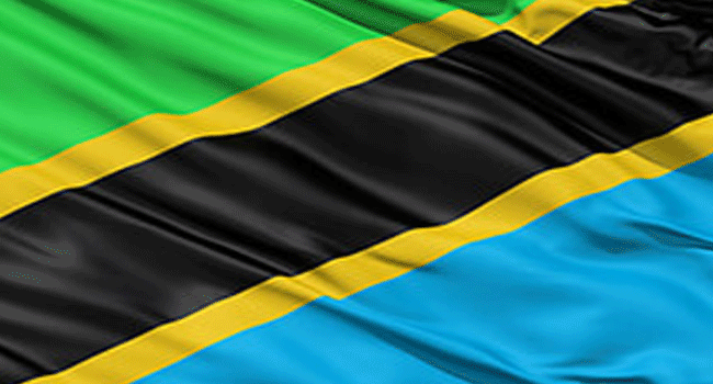 A file photo of the Tanzanian national flag.