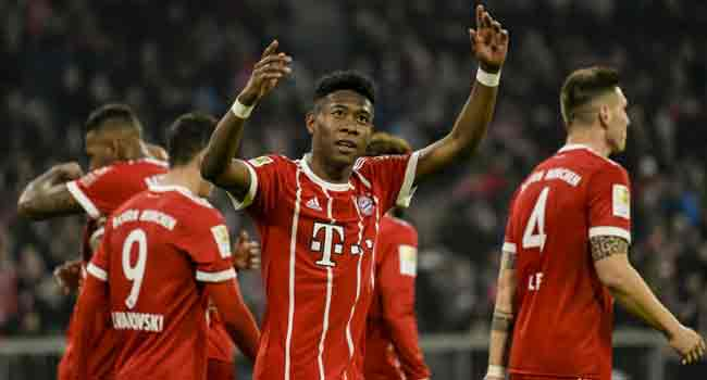Bayern Munich open 20-point gap