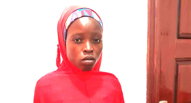 Nigerian soldiers rescue another Chibok schoolgirl