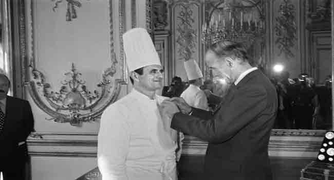 Paul Bocuse, a master of French cuisine, dies at 91