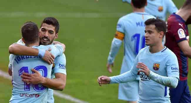 Barcelona boss Ernesto Valverde: