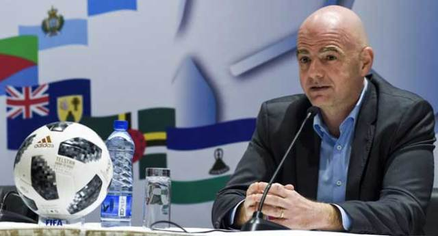 Infantino Insists Russia Is Ready To Host World Cup