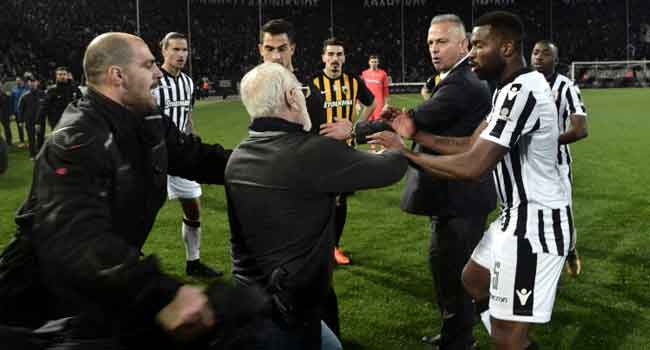 PAOK's president gets 3-year ban for gun incident -Greek league committee