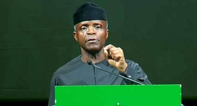 We Must Create Opportunities For Young People – Osinbajo