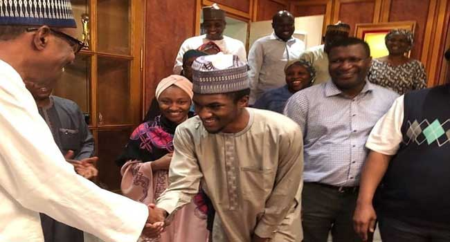 Governor, ministers welcome Yusuf Buhari after treatment overseas