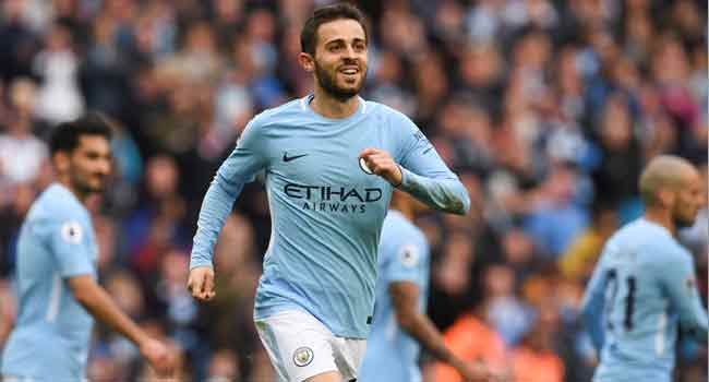 Bernardo Silva Gets Hat Trick As Manchester City Whip Watford 8 0