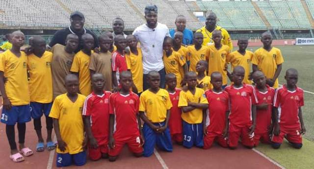 Yobo Graces Channels Kids Cup With Surprise Visit