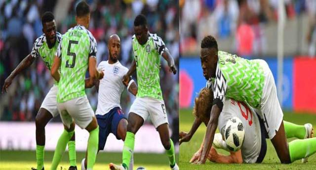Super Eagles' Friendly Against England In Pictures