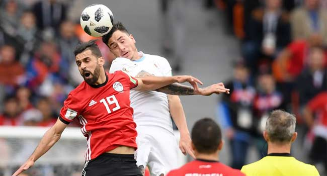 World Cup Live: Gimenez Fires Uruguay Ahead Of Egypt