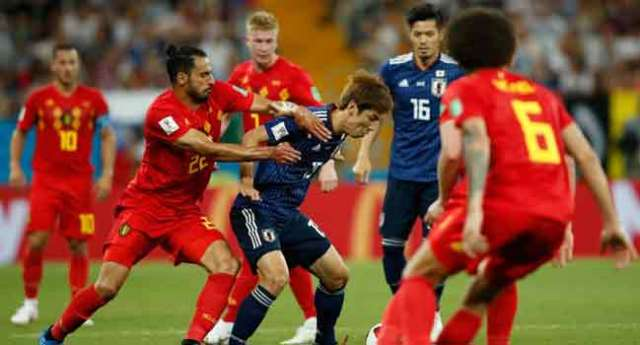 BREAKING: Spirited Belgium Send Japan Out Of World Cup