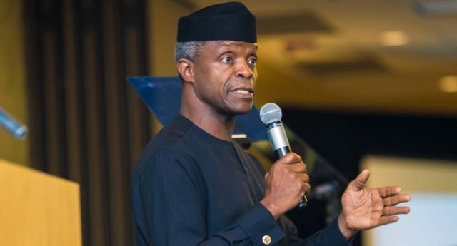 Agricultural Investment Will Bring Nigeria Out Of Poverty, Says Osinbajo