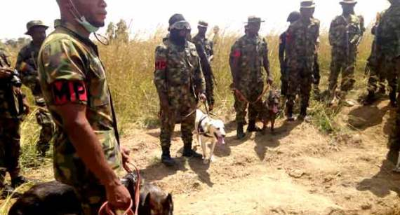 Army Discovers Shallow Grave In Search Of Missing General