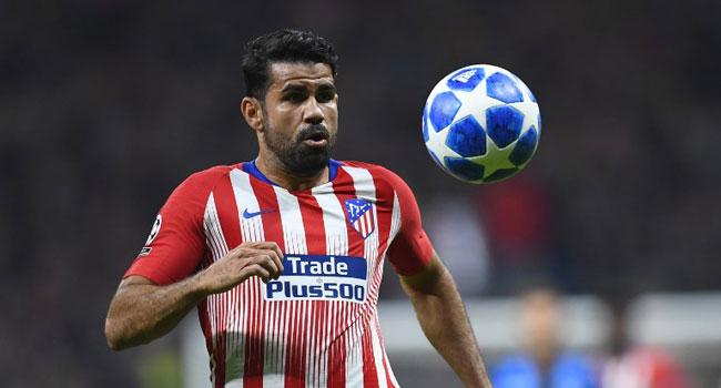 Costa Returns To Training Ahead Of Atletico, Barcelona Clash