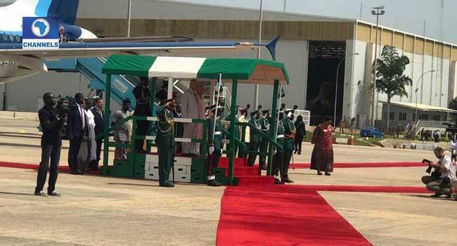 Prince charles in Nigeria 2