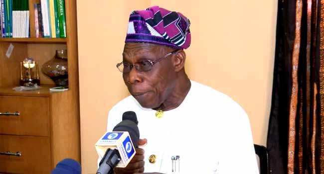 Obasanjo Calls For Stronger Opposition In Nigeria