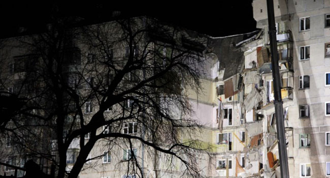 Russian apartment block collapse: Body count rises to 37