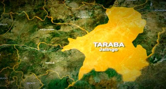 Map of Taraba