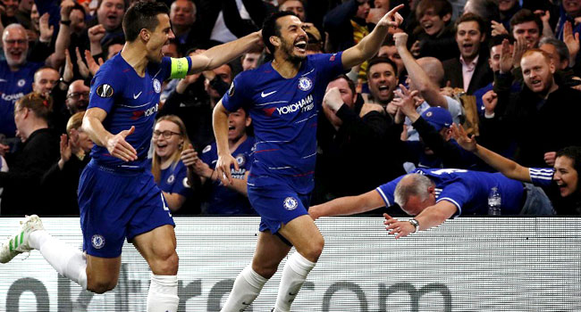 Chelsea Defeat Slavia Prague To Reach Europa League Semis