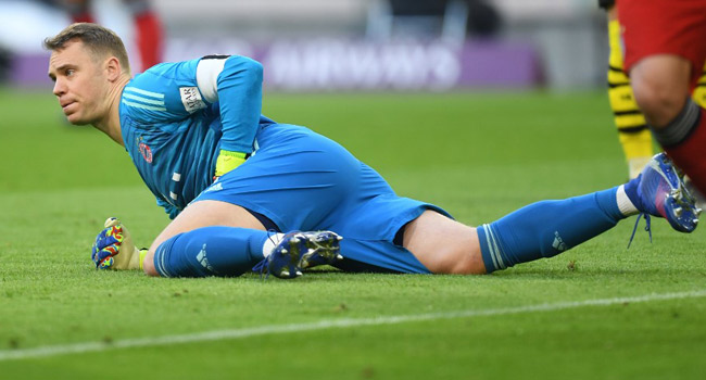 Bayern Fear For Neuer's Fitness After Injury Returns